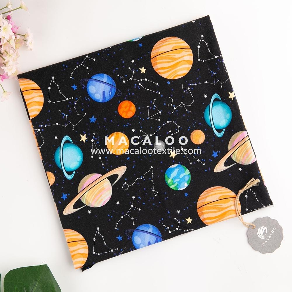 Custom fabric printing oeko tex certified digital printed