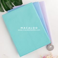 Teal 100 combed woven cotton twill fabric