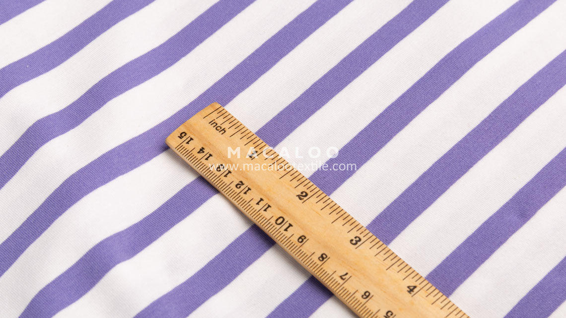 stripe jersey fabric