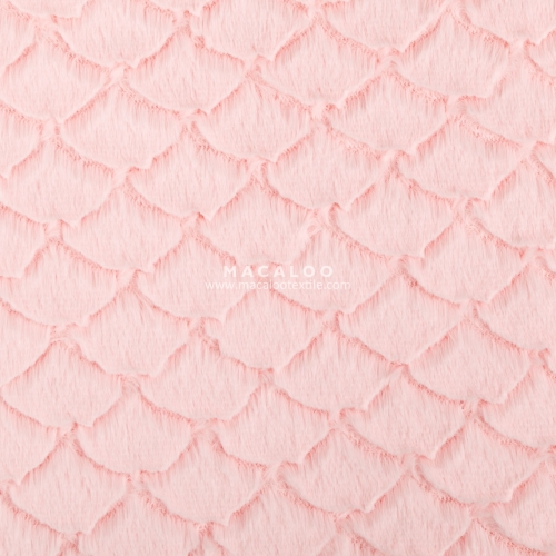 China supplier polyester minky fabric for cuddle blanket
