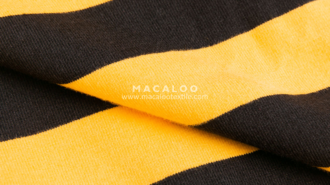 custom stripes fabric