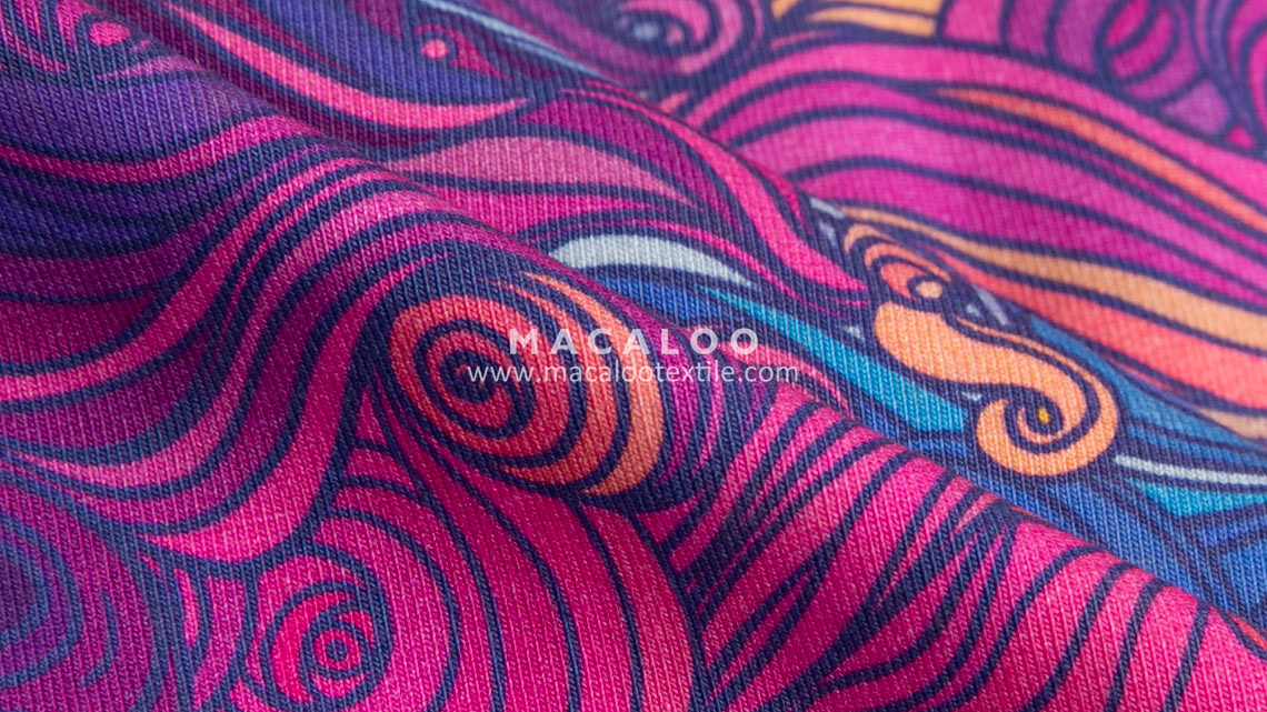 cotton fabric printed