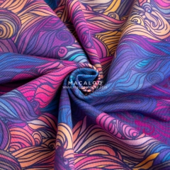 Direct manufacturer digital printed cotton single jersey fabric
