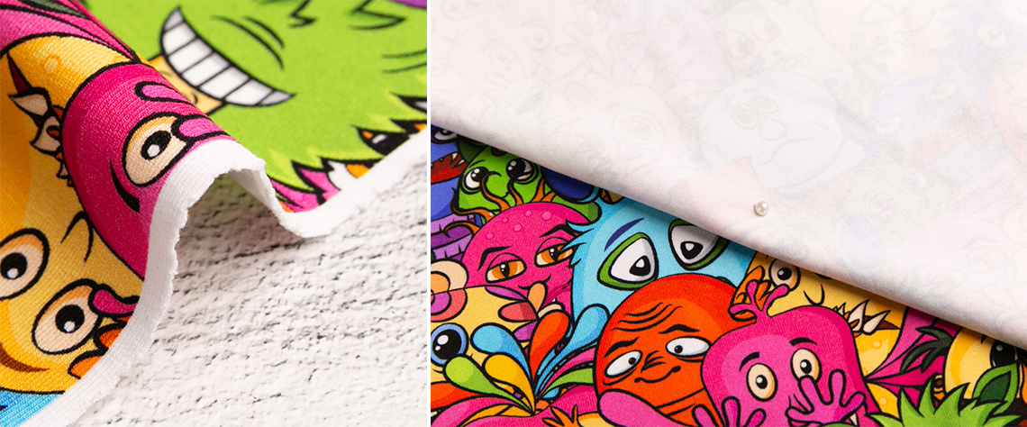 printed cotton lycra fabrics