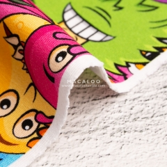 Digital printed cotton lycra fabrics China wholesale