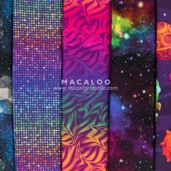 Stunning Nebula digital print cotton jersey fabric