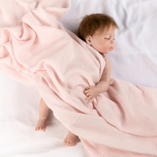 Can be use as photography prop newborn baby muslin swaddle blanket