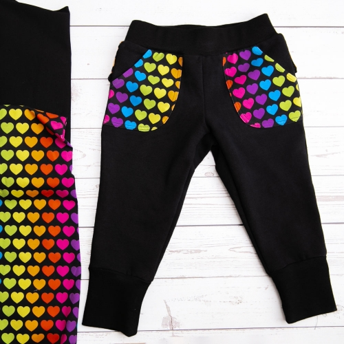 Amazing sewing quality soft and comfortable custom print baby boy jogger cotton pants for kids