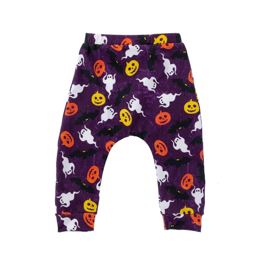 New design spring/autumn season cotton cartoon printed baby harem pants