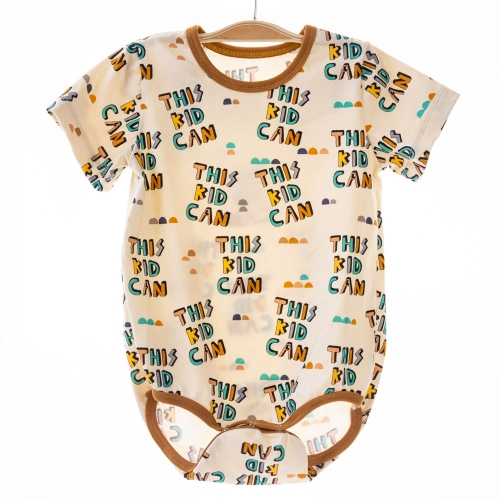 Small batch kids clothes line monogram infant boutique baby 100% organic cotton rompers short-sleeve bodysuit