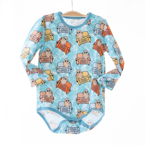 bright color custom printed cute newborn boutique clothing autumn outfit baby boy long sleeve grow rompers