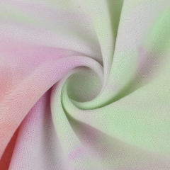 MCCD670# 300gsm French Terry Tie-Dyed Polyester Fabirc in stock