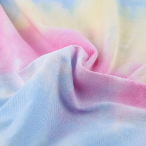 MCNFL Rib1122# 220gsm Ribbing Tie-Dyed Fabirc in stock