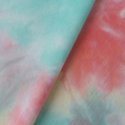 MCNFL 1122# 190gsm 100%cotton Tie-Dyed Fabirc in stock