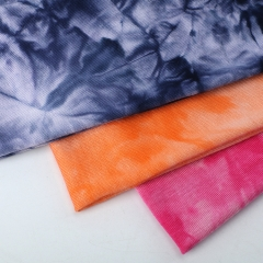 MCCY0032B 180gsm Rayon Spandex Tie-Dyed Fabirc