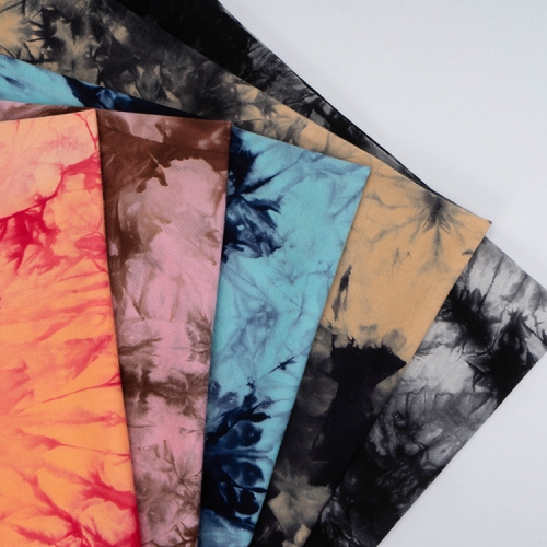 MCHJ208# 180gsm Modal lycra Tie-Dyed Fabirc